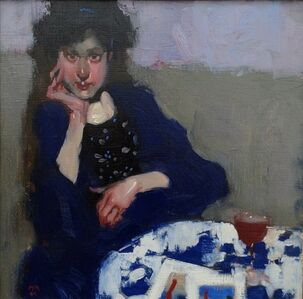 Milt Kobayashi, 'Monique and Her Japanese Prints', 2010-2015