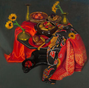 Janet Monafo, 'Fruit and Flowers', 2018