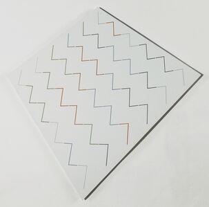 Hans Jörg Glattfelder, 'lineare variation VI', 1991