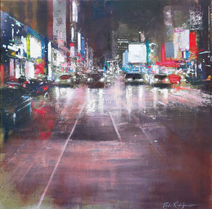 Pedro Rodriguez Garrido, 'Lights on 8th Avenue', 2018