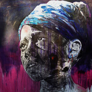 Nelson Makamo, 'Purple Prose', 2018
