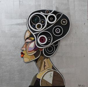 Abelardo Hernandez, 'African Profile 2', 2016