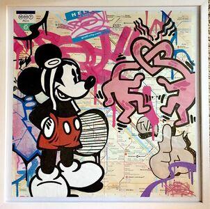 FAT, 'Mickey Aviateur', 2017