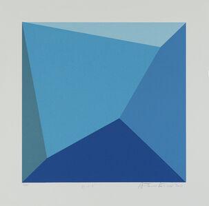 Antonio Peticov, 'Bleu 7', 2016
