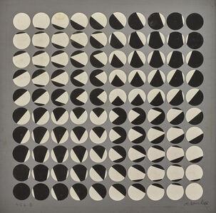 Horacio Garcia-Rossi, 'Composition cinétique', 1959