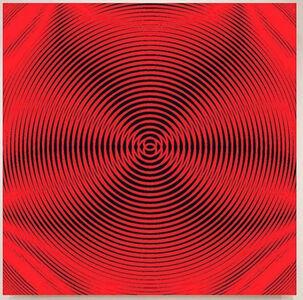 John Zoller, 'John Zoller, Red Pulsation Radiation', 2018