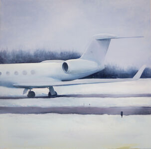 Trevor Young, 'Airplane in the Snow', 2013