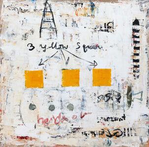 Bill Fisher, 'Three Yellow Squares', 2013
