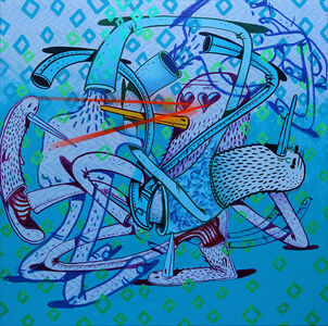 Alëxone Dizac, 'HUMAN SHURIKEN', 2014