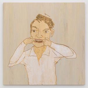 Stephan Balkenhol, 'Grimace', 2019