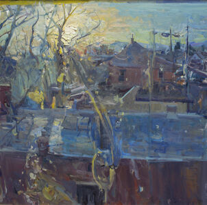 Mikael Olson, 'Studio Window', 2016
