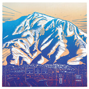 Pia Van Nuland, 'Mount Olympus/SLC/USA', 2018