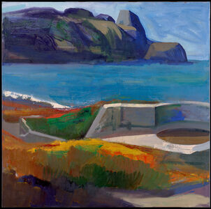 James Weeks, 'Looking West from Spanish Fort - Baker Beach #3', 1962