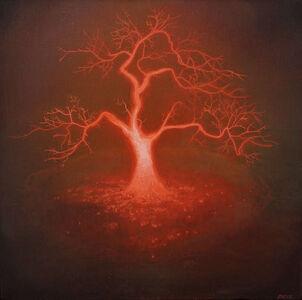 Andrew McIntosh (Mackie), 'Lightning Tree', 2018