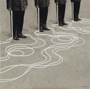 Rinat Voligamsi, 'Stripes 2', 2017