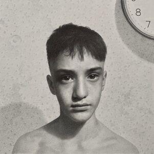 Lewis Chamberlain, 'Boy and clock', 2020