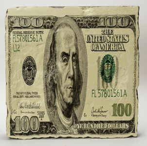 Wang Jin, '100 Dollars, from the Money Stones series', 2006