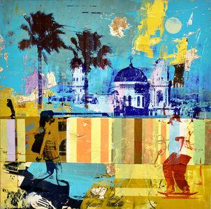 Dan Parry Jones, 'Dome and Palms', 2018
