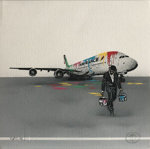 Nick Walker, 'Air France', 2017