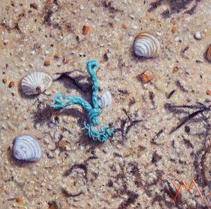 Yvonne Melchers, 'Washed Ashore North Sea Beach IX', 2020