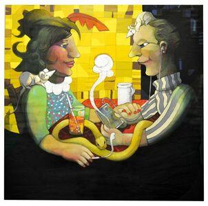 Nazir Tanbouli, 'Disconnected', 1993-2018