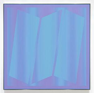 Julian Stanczak, 'Frosty Blue', 1976