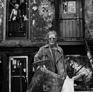 Rosalind Solomon, 'An East Village Painter', 1986