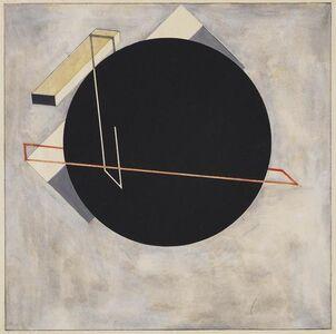 "El Lissitzky, 'Study for ""Proun"" 8 Stellungen', 1923"