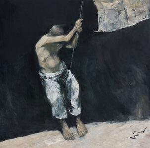 Cen Long, 'The Lone Sailor', 2018