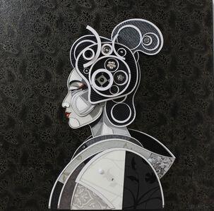 Abelardo Hernandez, 'Geisha Profile 2', 2015