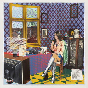 Tim Mara, 'Portrait of Astrid', 1973