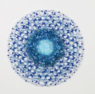 Annalù Boeretto, 'Dreamcatcher - blue shell murrina', 2021