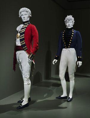 Reigning Men: Fashion in Menswear, 1715–2015, installation view