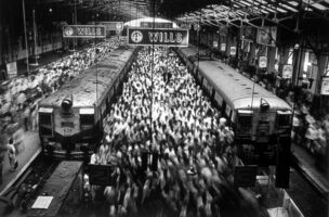 Sebastião Salgado, 'Churchgate Station, Bombay India', 1995/2004