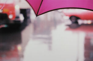 Saul Leiter, 'Purple Umbrella', 1950's