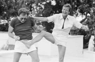 Terry O'Neill, 'Peter Sellers and Roger Moore, Beverly Hills', 1970s