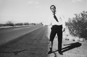 Terry O'Neill, 'Sean Connery Hitchhiking', 1971