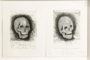 Damien Hirst, 'For the Love of God, Beyond Belief and Thank You (Set of 2)', 2007
