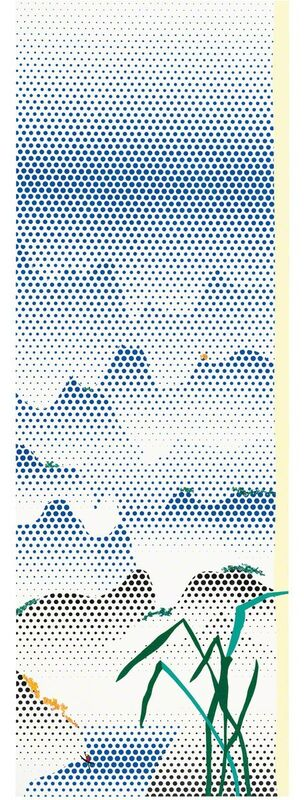 Roy Lichtenstein, 'Landscape with Grass', 1996, Painting, Oil and Magna on canvas, Gagosian