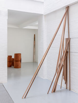 Standpoint Gallery at London Art Fair 2020, installation view