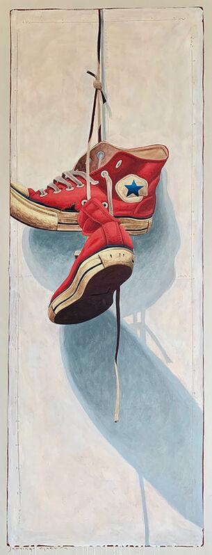 Santiago Garcia, 'Converse #1338', 2020, Painting, Acrylic on canvas, CODA Gallery