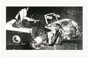 Andy Warhol, 'Car Crash ', 1978-1979