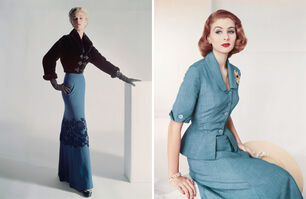 Horst P. Horst, 'Set of two Horst P. Horst late prints, from the series Fashion in Colour', 1951