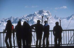 Slim Aarons, 'Cortina dAmpezzo Italy', 1982