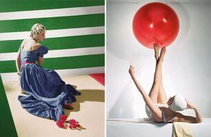 Horst P. Horst, ' Set of two Horst P. Horst late prints, from the series Fashion in Colour', 1939