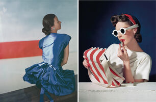 Horst P. Horst, 'Set of two Horst P. Horst late prints, from the series Fashion in Colour', 1939