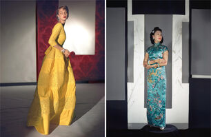 Horst P. Horst, 'Set of two Horst P. Horst late prints, from the series Fashion in Colour', 1943
