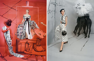 Horst P. Horst, 'Set of two Horst P. Horst late prints, from the series Fashion in Colour', 1953