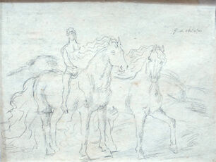 """Sketch for """"The Horses"""""""