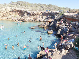 Cala Conta Black Dog, Ibiza